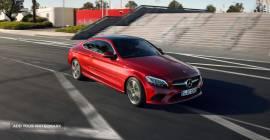Demo - Czerwony Mercedes - piękny!