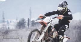 Demo - Crossowy zadbany motocykl Honda
