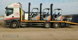 Transport Maszyn Budowlanych Laweta 24 Ton Po